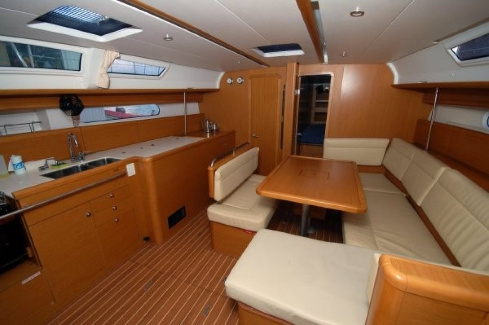 Jeanneau Sun Odyssey 45 between personal and professional Peloponnese, West Greece and Ionian Sea