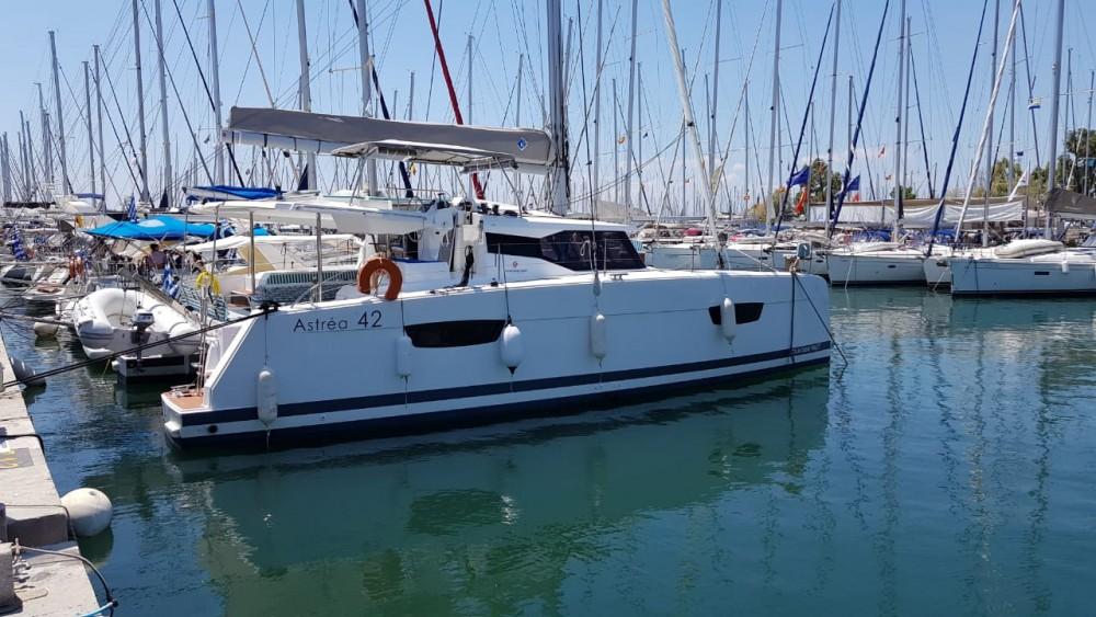 Boat rental Athens cheap Astrea 42