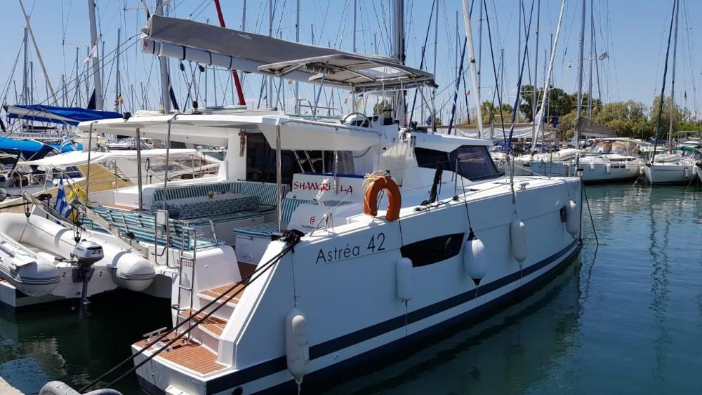 Boat rental Corfu cheap Astrea 42