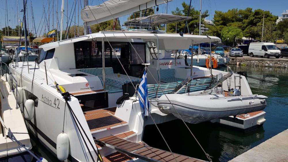 Boat rental Fountaine Pajot Astrea 42 in Corfu on Samboat