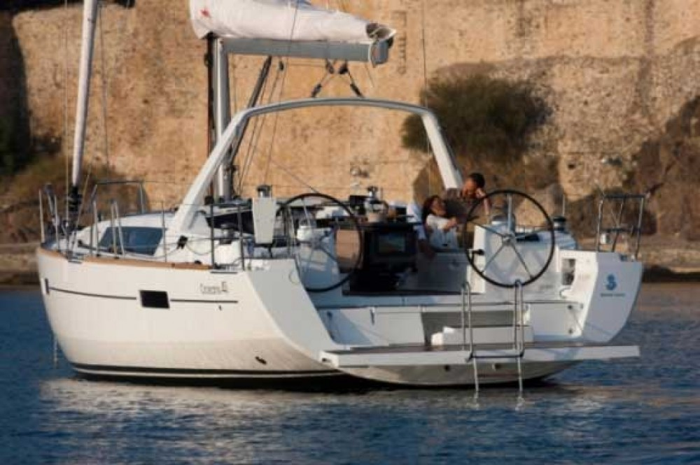 Boat rental Athens cheap Oceanis 41