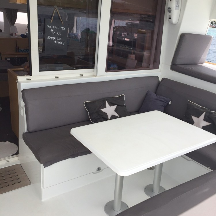Hire Catamaran with or without skipper Lagoon Barcelona