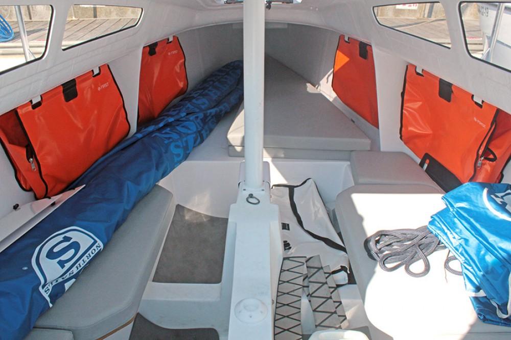 Boat rental Malgrat de Mar cheap FIRST 24
