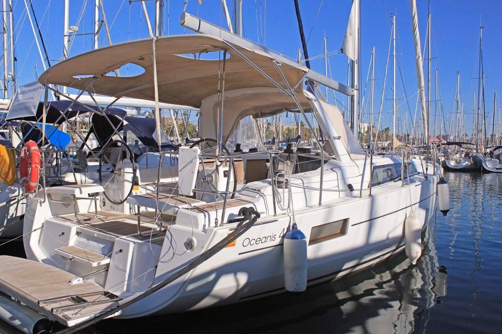 Rental Sailboat in Malgrat de Mar - Bénéteau Oceanis 41.1
