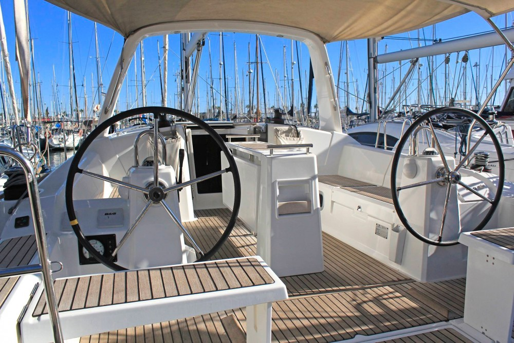 Boat rental  cheap Oceanis 38.1