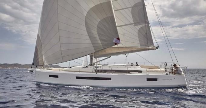 Boat rental Skiathos cheap Sun Odyssey 490