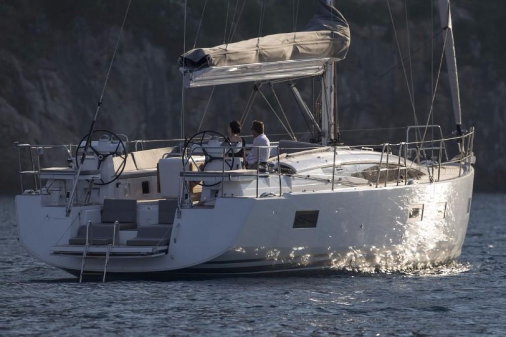 Rental Sailboat in Peloponnese, Western Greece and the Ionian - Jeanneau Jeanneau 54