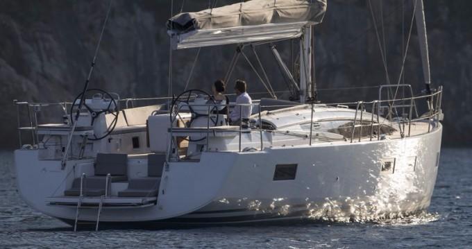Boat rental Athens cheap Jeanneau 54