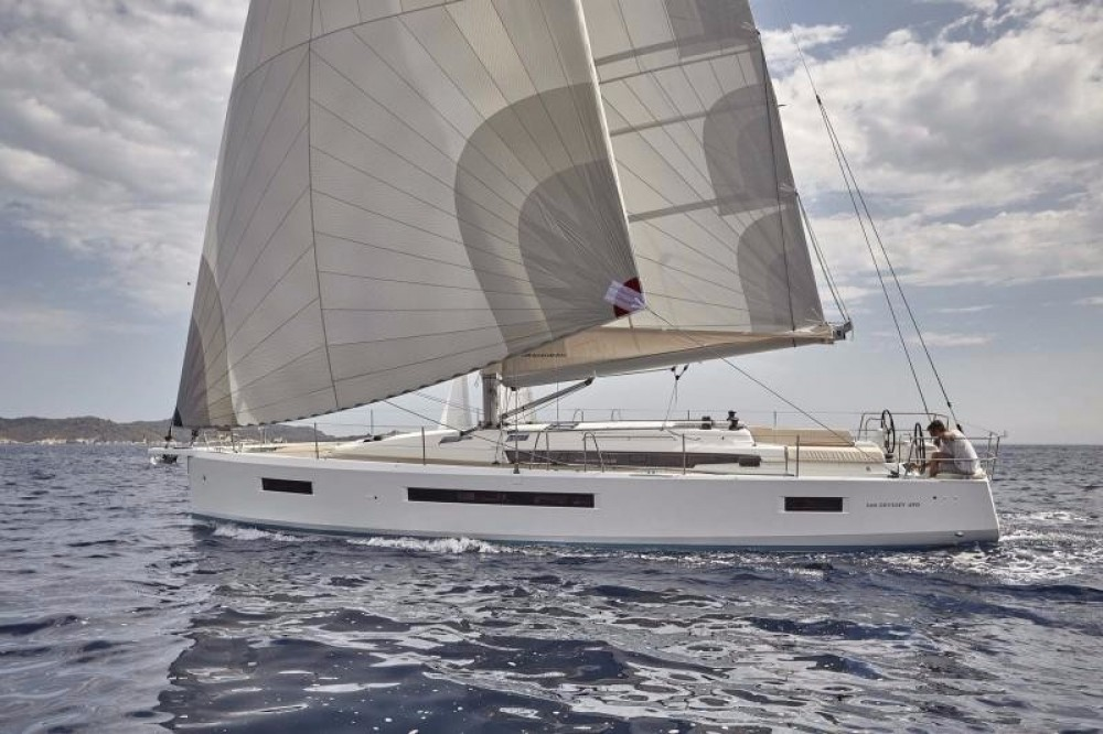 Jeanneau Sun Odyssey 490 between personal and professional Laurium