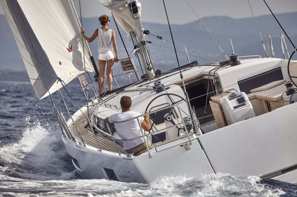 Rental Sailboat in Peloponnese, West Greece and Ionian Sea - Jeanneau Sun Odyssey 490