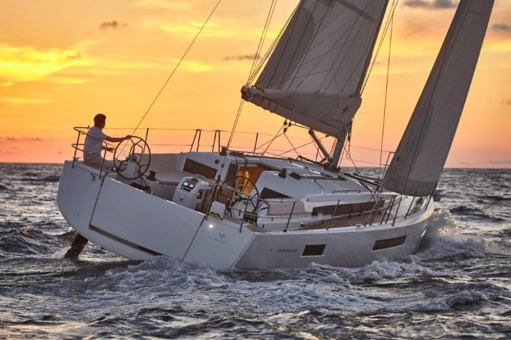 Rental Sailboat in Corfu - Jeanneau Sun Odyssey 440