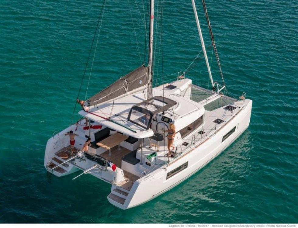 Boat rental Aegean Region cheap Lagoon 40