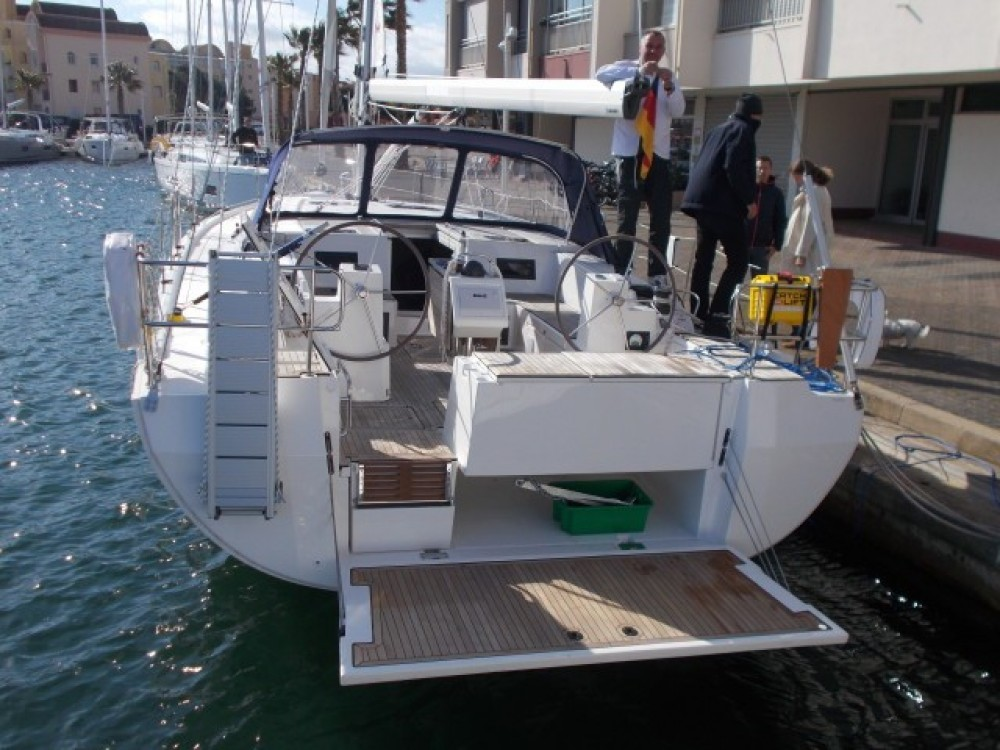 Boat rental Italy cheap Bavaria C45 Holiday