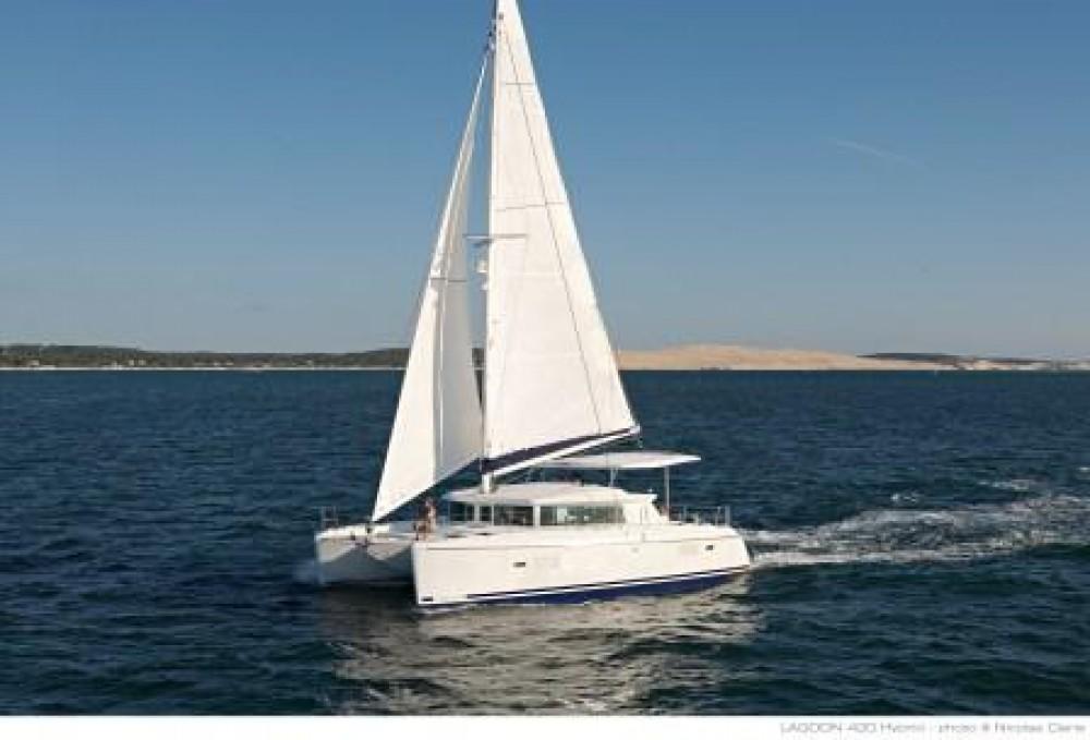 Rental Catamaran Lagoon-420 with a permit