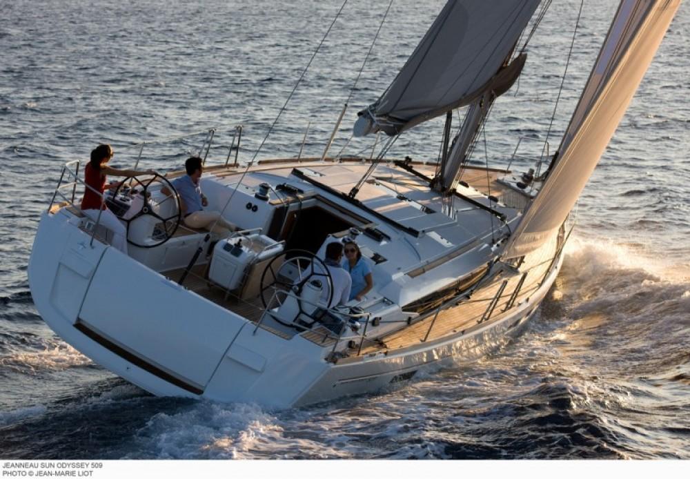 Boat rental Jeanneau Sun Odyssey 519 in Greece on Samboat