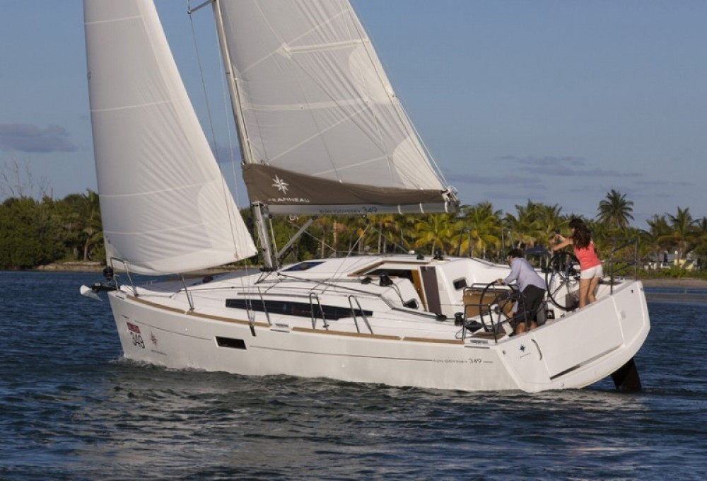 Rental Sailboat in Peloponnese, Western Greece and the Ionian - Jeanneau Sun Odyssey 349