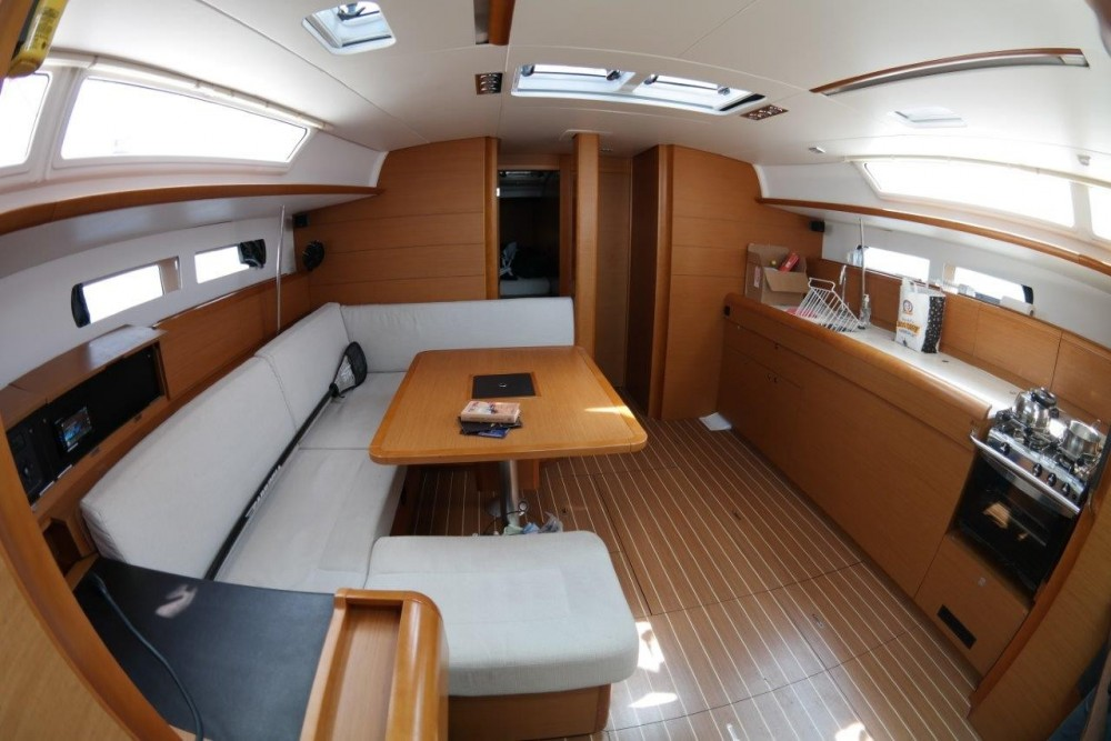 Jeanneu Sun Odyssey 469 between personal and professional Peloponnese, West Greece and Ionian Sea