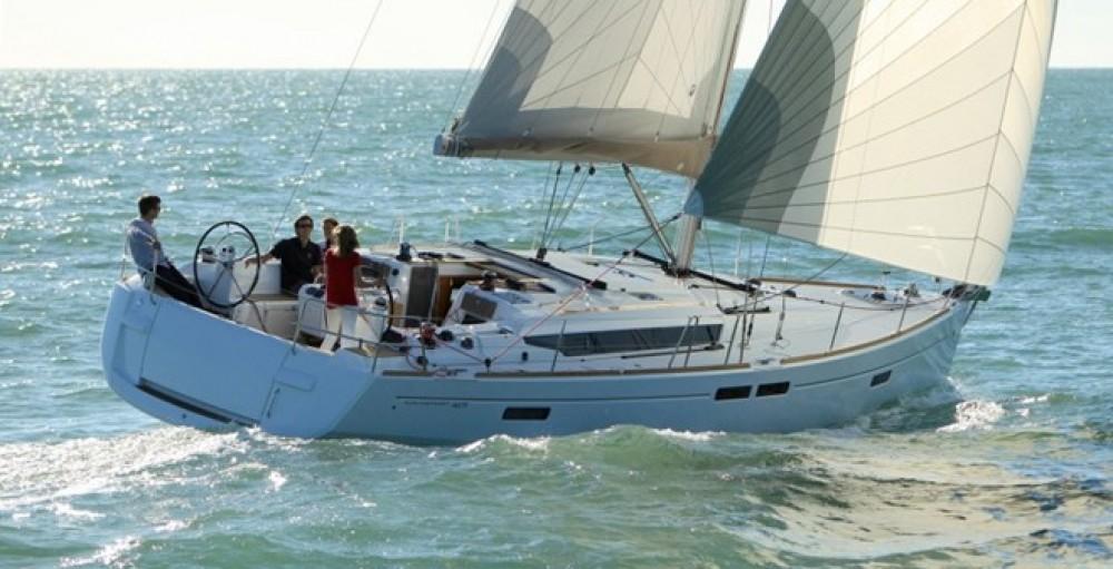 Rental Sailboat in Peloponnese, West Greece and Ionian Sea - Jeanneu Sun Odyssey 469