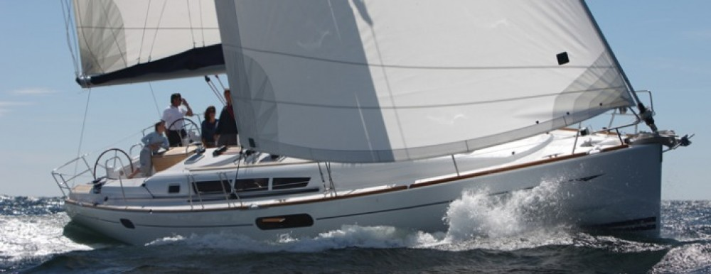 Jeanneau Sun Odyssey 44i between personal and professional Italy