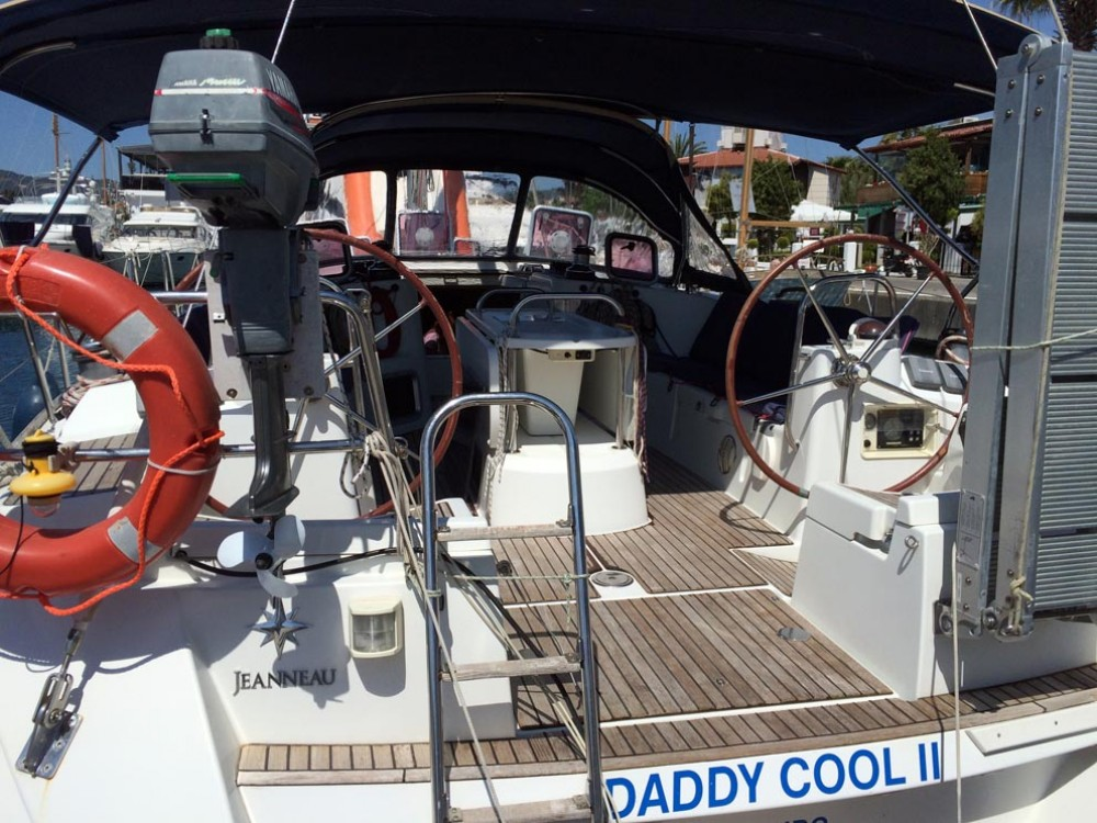 Jeanneau Sun Odyssey 44i between personal and professional Pula