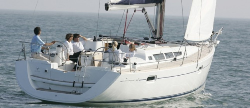 Boat rental Jeanneau Sun Odyssey 42i in Italy on Samboat