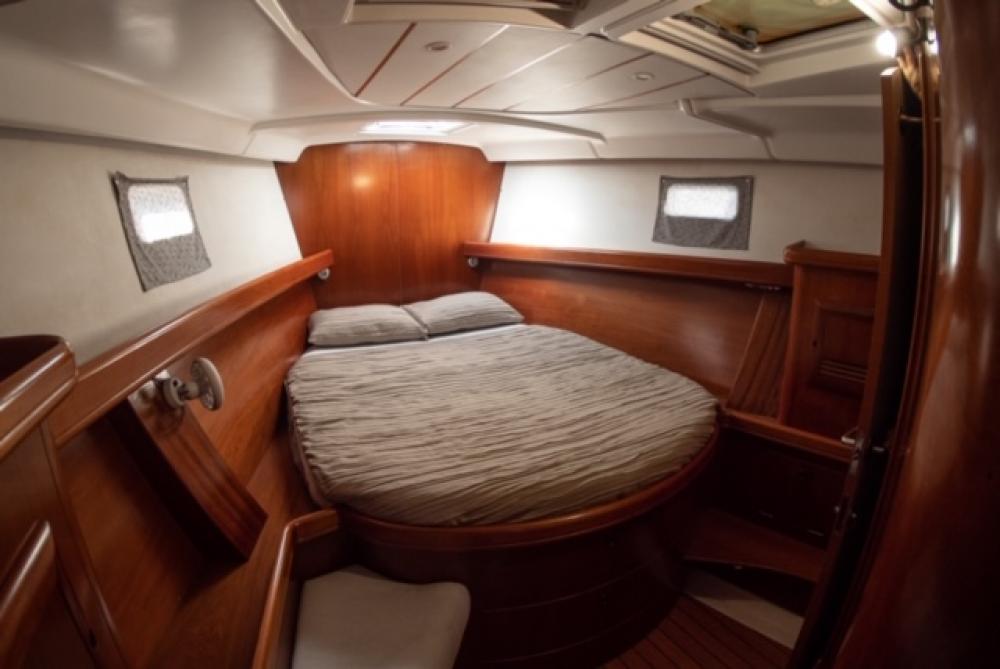 Boat rental Balearic Islands cheap Oceanis 473