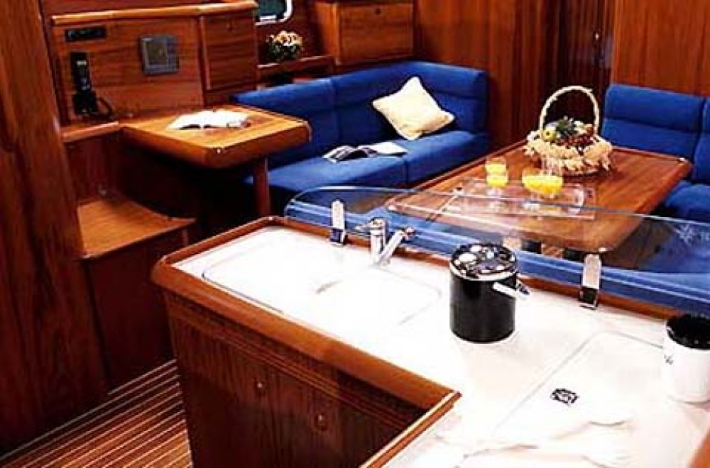 Jeanneau Sun Odyssey 43 between personal and professional Athens