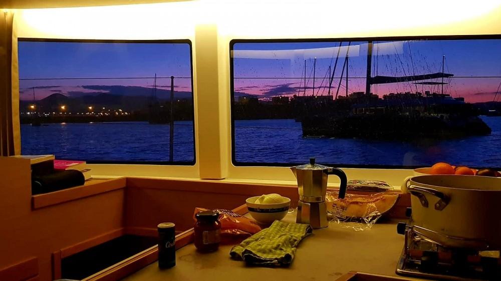 Hire Catamaran with or without skipper Lagoon Sant Antoni de Portmany