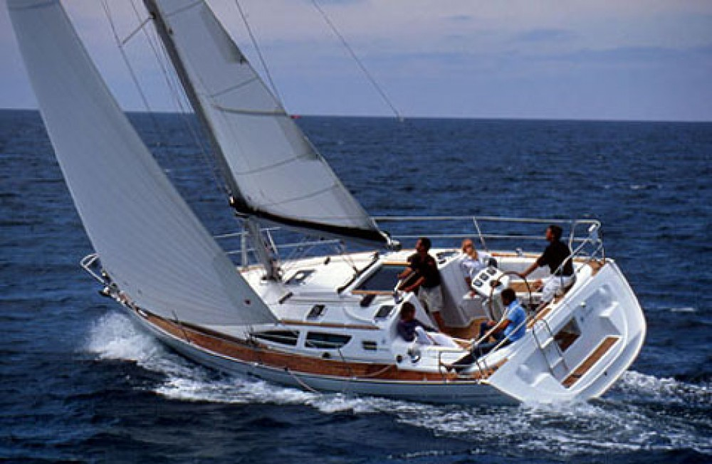 Rent a Jeanneau Sun Odyssey 35 Peloponnese, West Greece and Ionian Sea