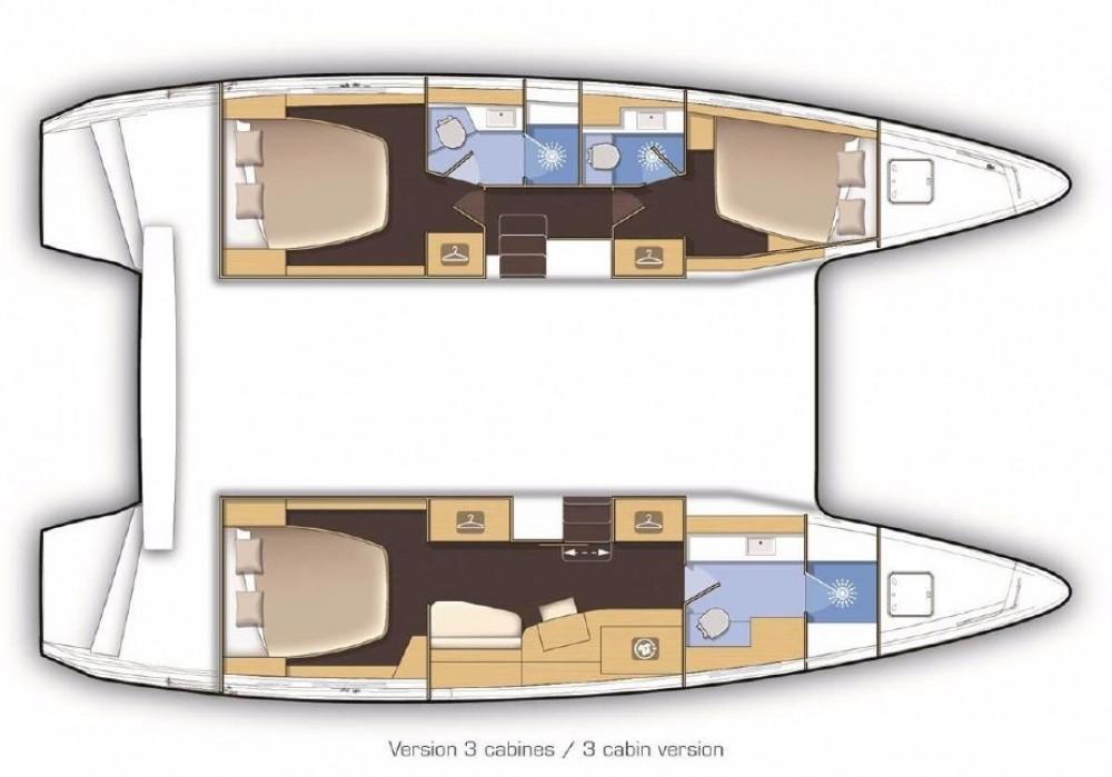 Rental Catamaran in Balearic Islands - Lagoon Lagoon 42
