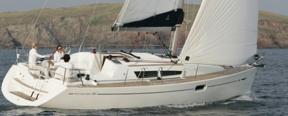Rental Sailboat in Athens - Jeanneau Sun Odyssey 36i