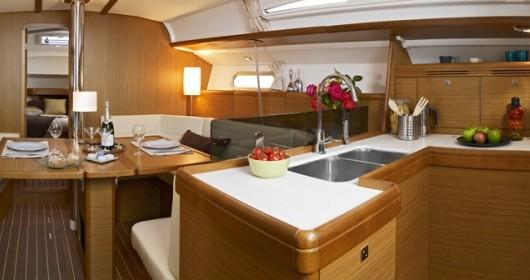 Rental yacht Λαύριο - Jeanneau Sun Odyssey 42i on SamBoat