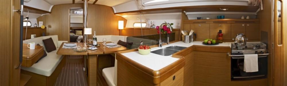 Boat rental Keramoti cheap Sun Odyssey 42i