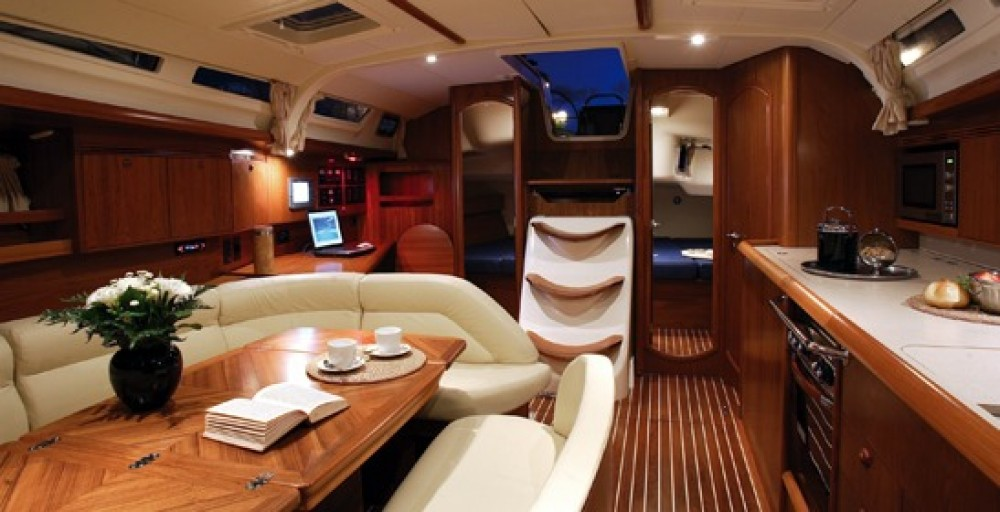Jeanneau Sun Odyssey 45 between personal and professional Athens
