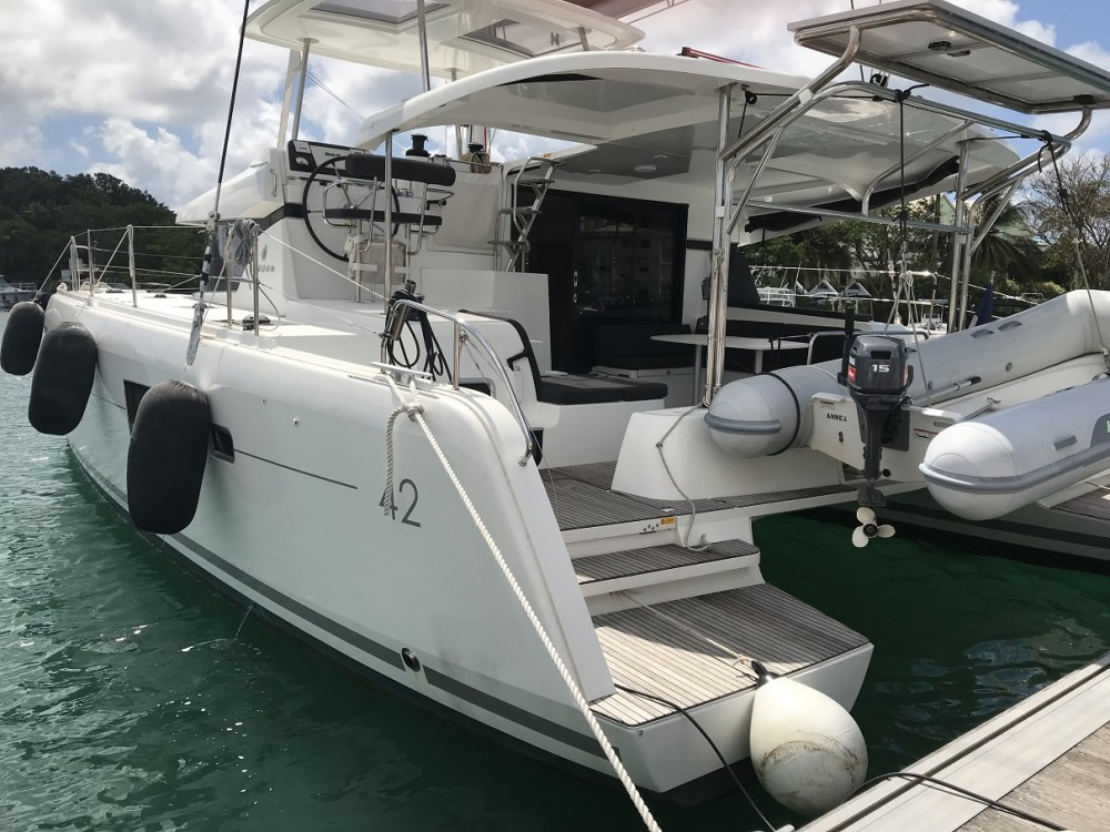 Hire Catamaran with or without skipper CNB Martinique