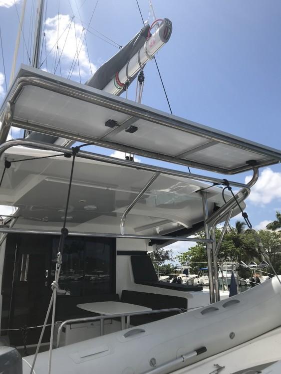 Boat rental Martinique cheap Lagoon 420
