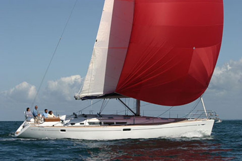Jeanneau Sun Odyssey 49 between personal and professional Athens