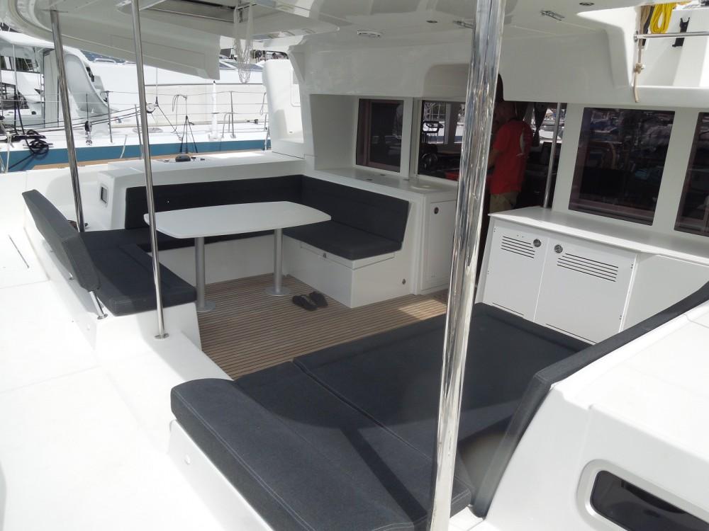 CNB Lagoon 450 F between personal and professional Calliaqua