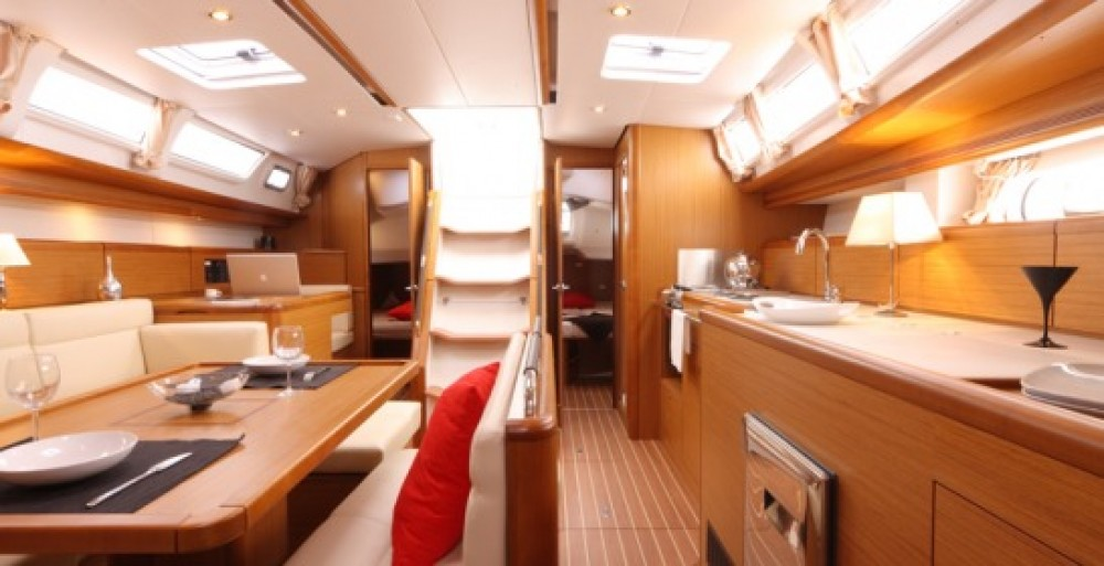 Jeanneau Sun Odyssey 44i between personal and professional Βόλος