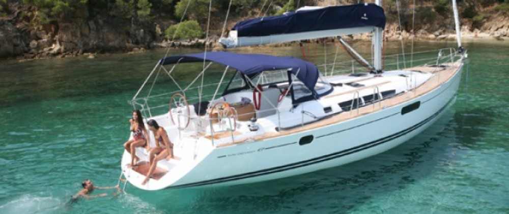 Jeanneau Sun Odyssey 49i between personal and professional Athens