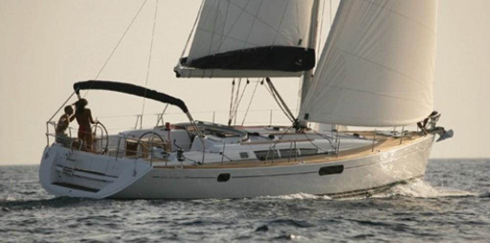 Boat rental Athens cheap Sun Odyssey 49i