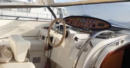 Rental Motorboat in Baiae - Blu Martin SUN TOP 1350