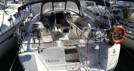 Rental Sailboat SPBI S.A. with a permit