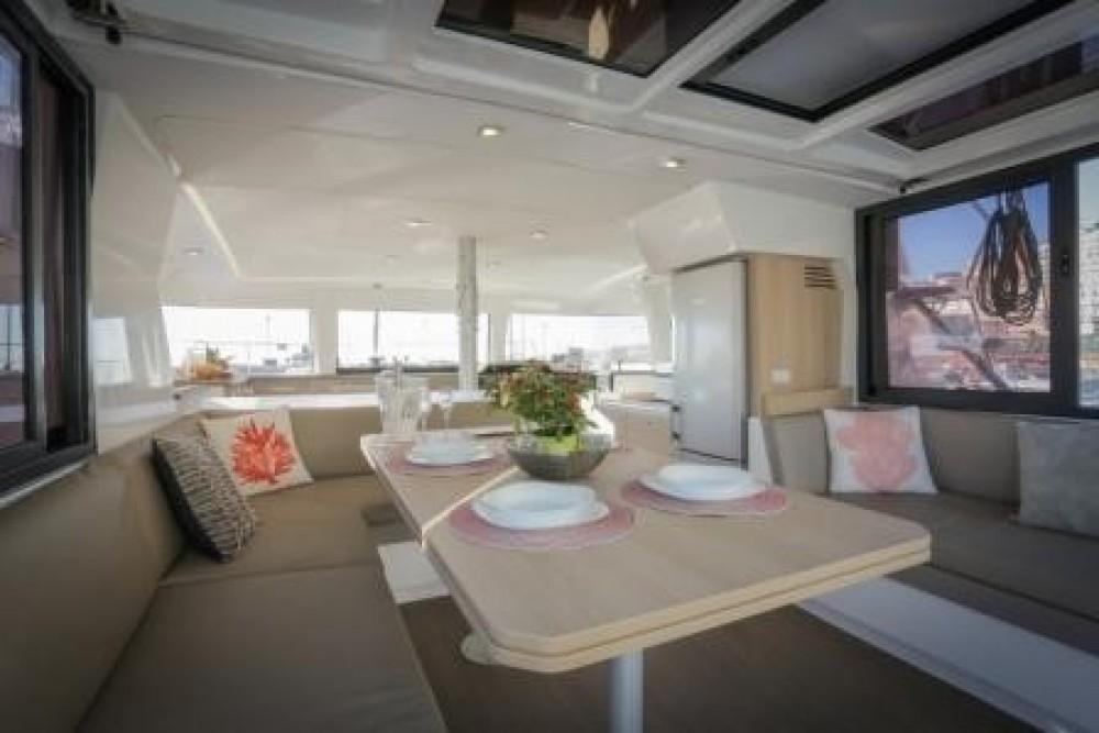 Rental Catamaran Catana Group with a permit