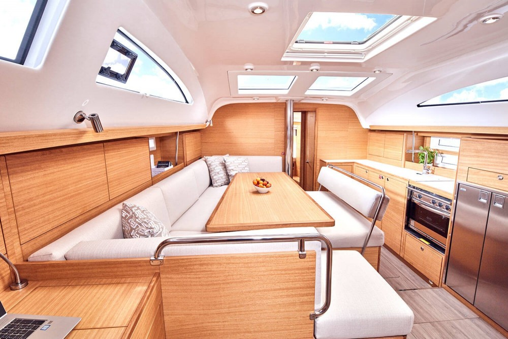 Rental Sailboat Elan-Yachts with a permit