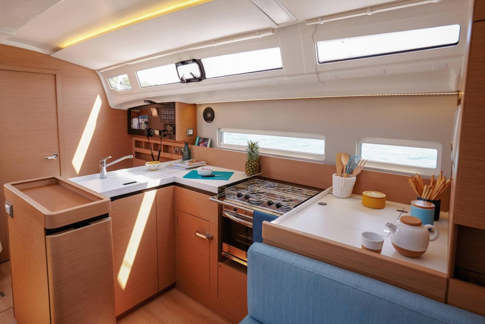 Jeanneau Sun Odyssey 410 between personal and professional Peloponnese, West Greece and Ionian Sea