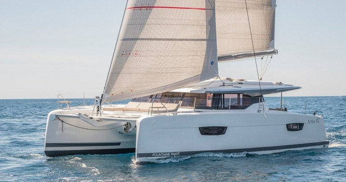 Rental yacht Lefkas Egremni - Fountaine Pajot Astrea 42 on SamBoat