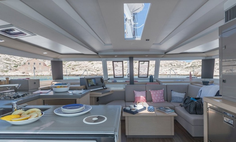 Catamaran for rent Peloponnese, West Greece and Ionian Sea at the best price