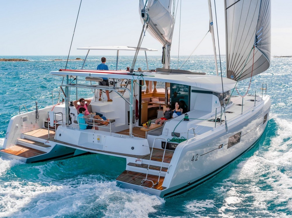 Boat rental Peloponnese, Western Greece and the Ionian cheap Lagoon 42