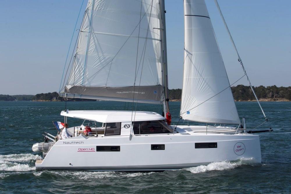 Boat rental Phuket cheap Nautitech Open 40